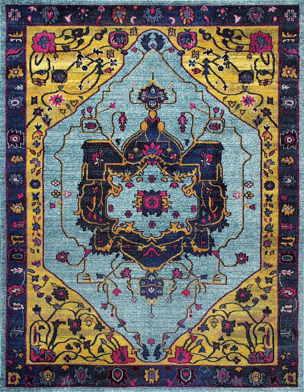 nuloom vintage janella traditional area rug collection