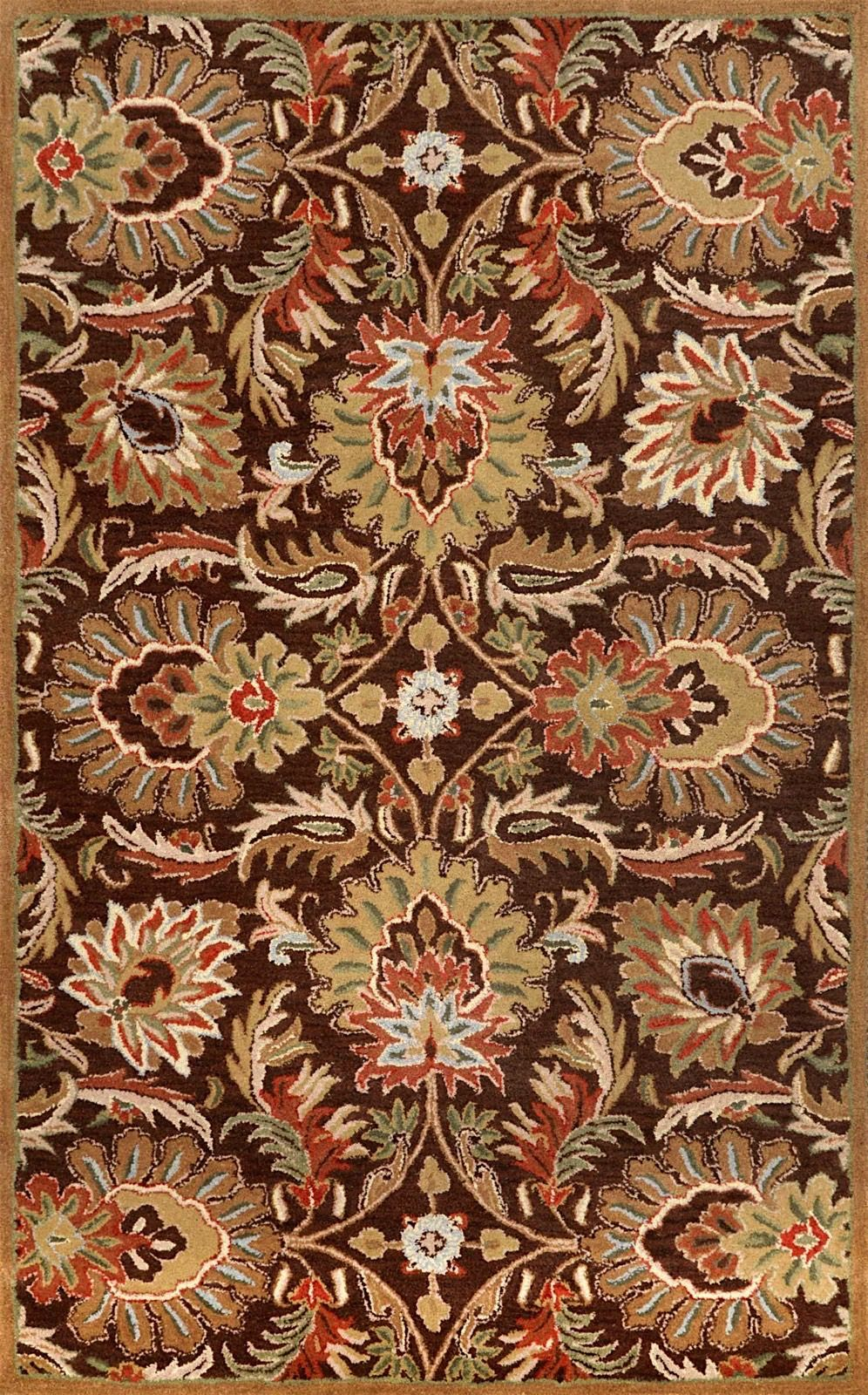 nuloom chocolate contemporary area rug collection