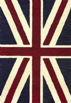 NuLoom Novelty Union Jack Area Rug Collection
