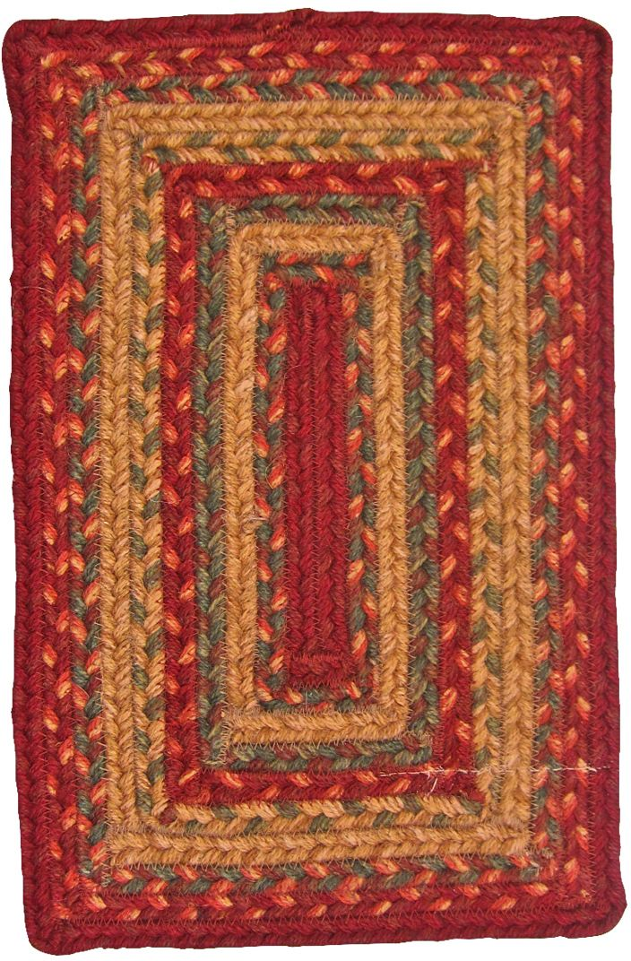 homespice decor allentown braided area rug collection