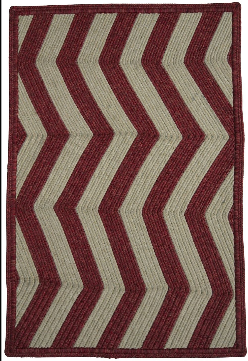 homespice decor cinnamon ivory braided area rug collection