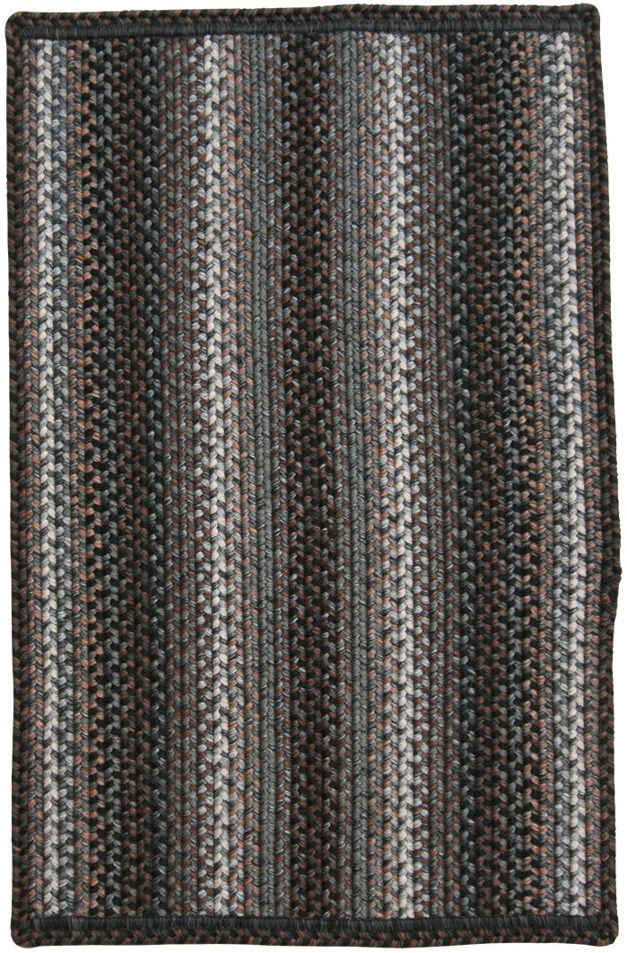 homespice decor evening walk braided area rug collection