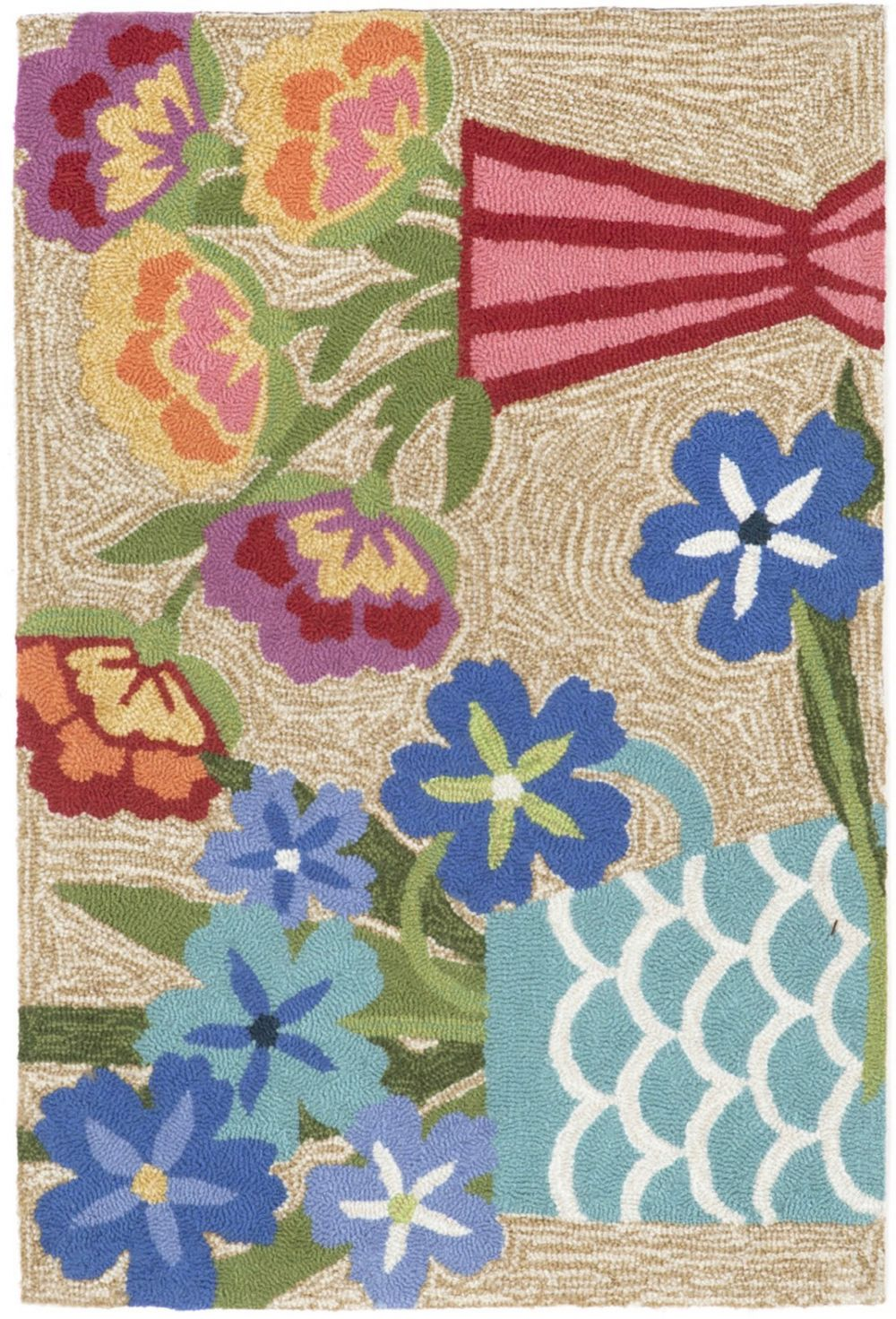 trans ocean frontporch country & floral area rug collection