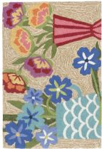 Trans Ocean Country & Floral Frontporch Area Rug Collection