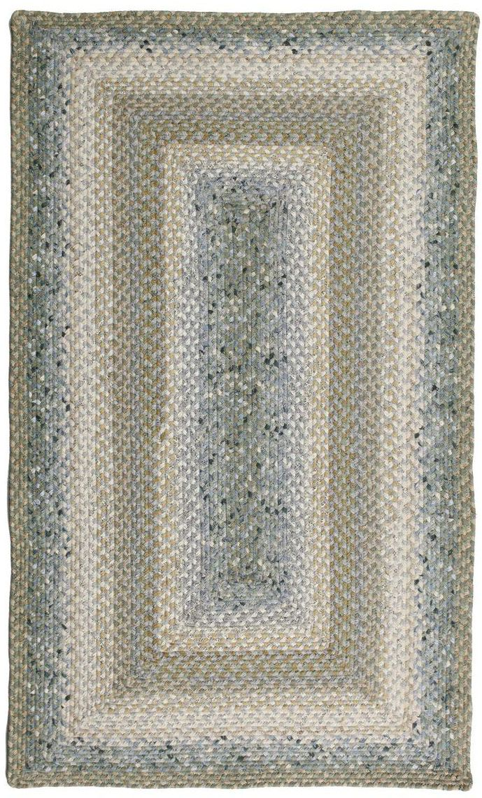 homespice decor celadon braided area rug collection