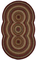 Homespice Decor Braided Trio Charm Area Rug Collection