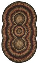 Homespice Decor Braided Trio Comfort Area Rug Collection
