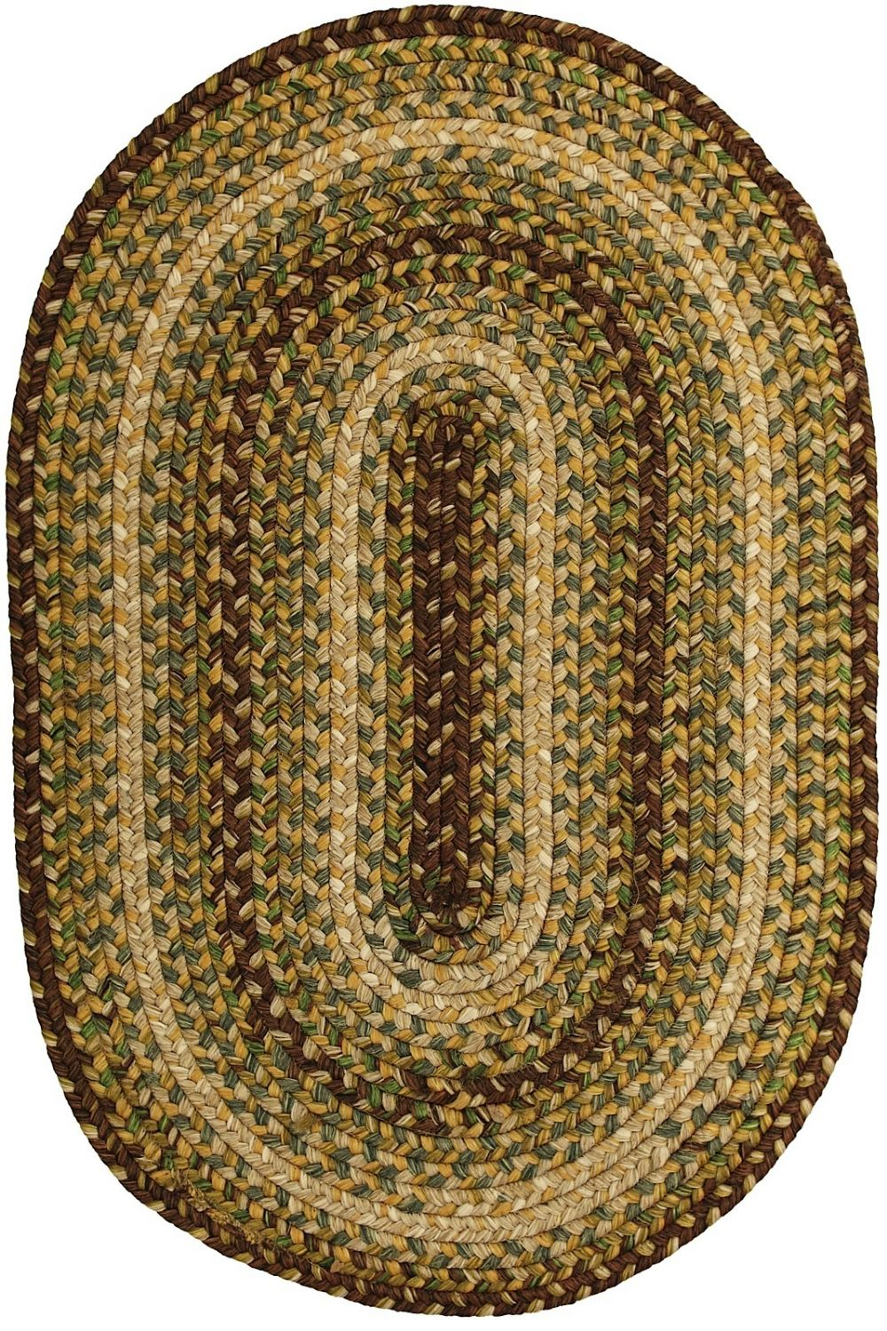 homespice decor country walk braided area rug collection