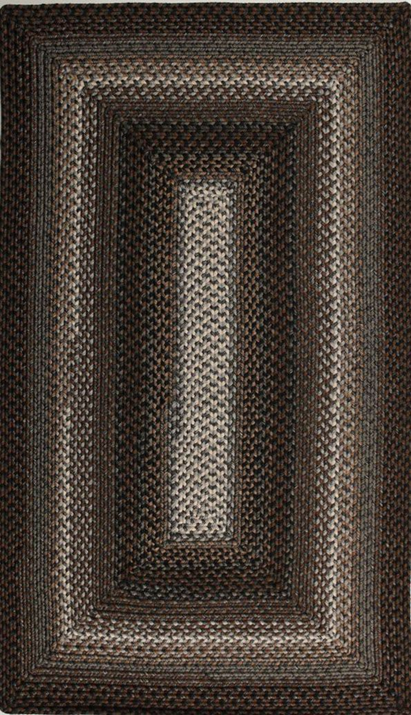 homespice decor midnight moon braided area rug collection