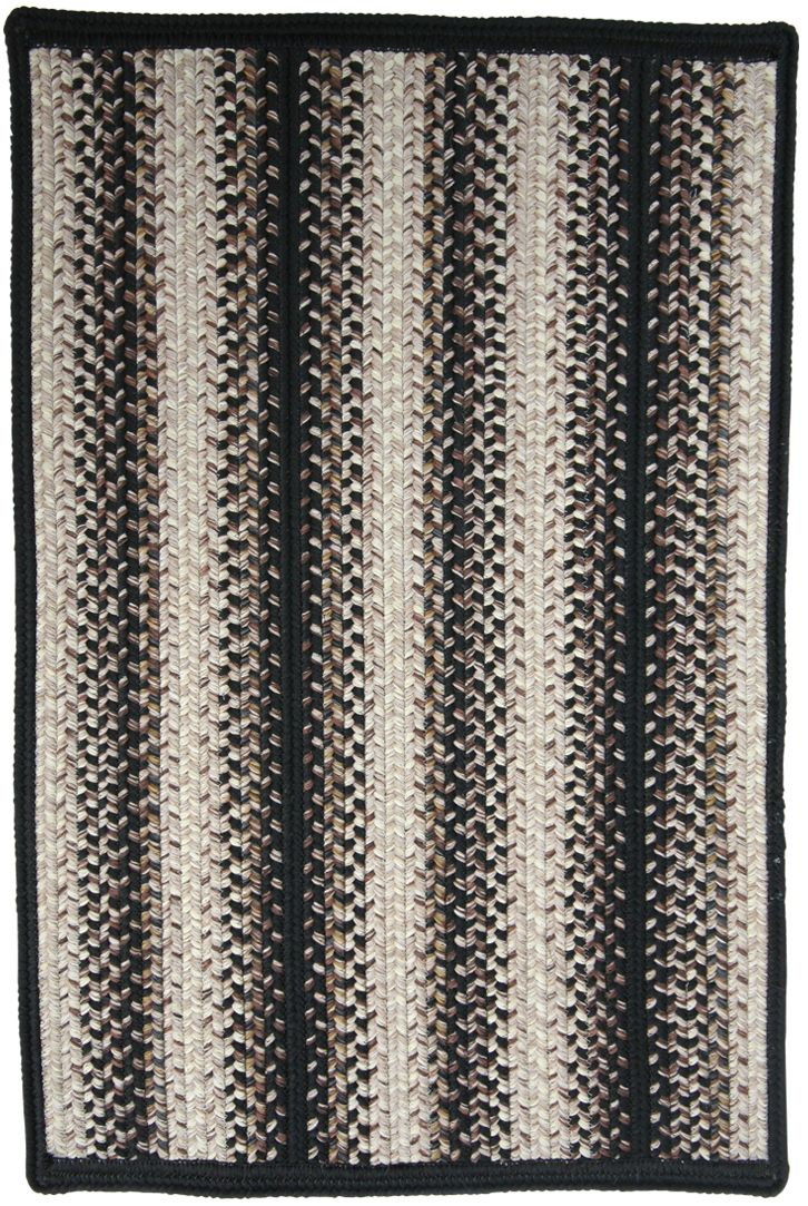 homespice decor onyx braided area rug collection