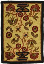 Homespice Decor Braided Potted Flower Area Rug Collection