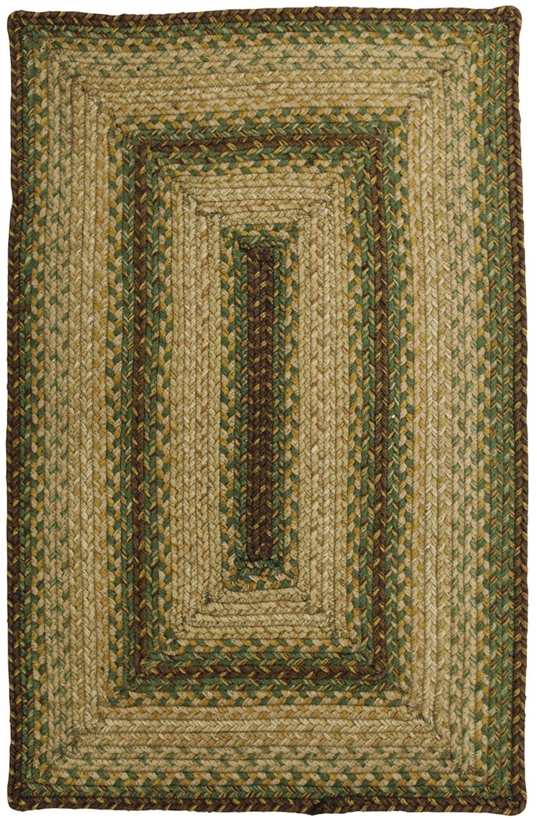 homespice decor rolling hill braided area rug collection