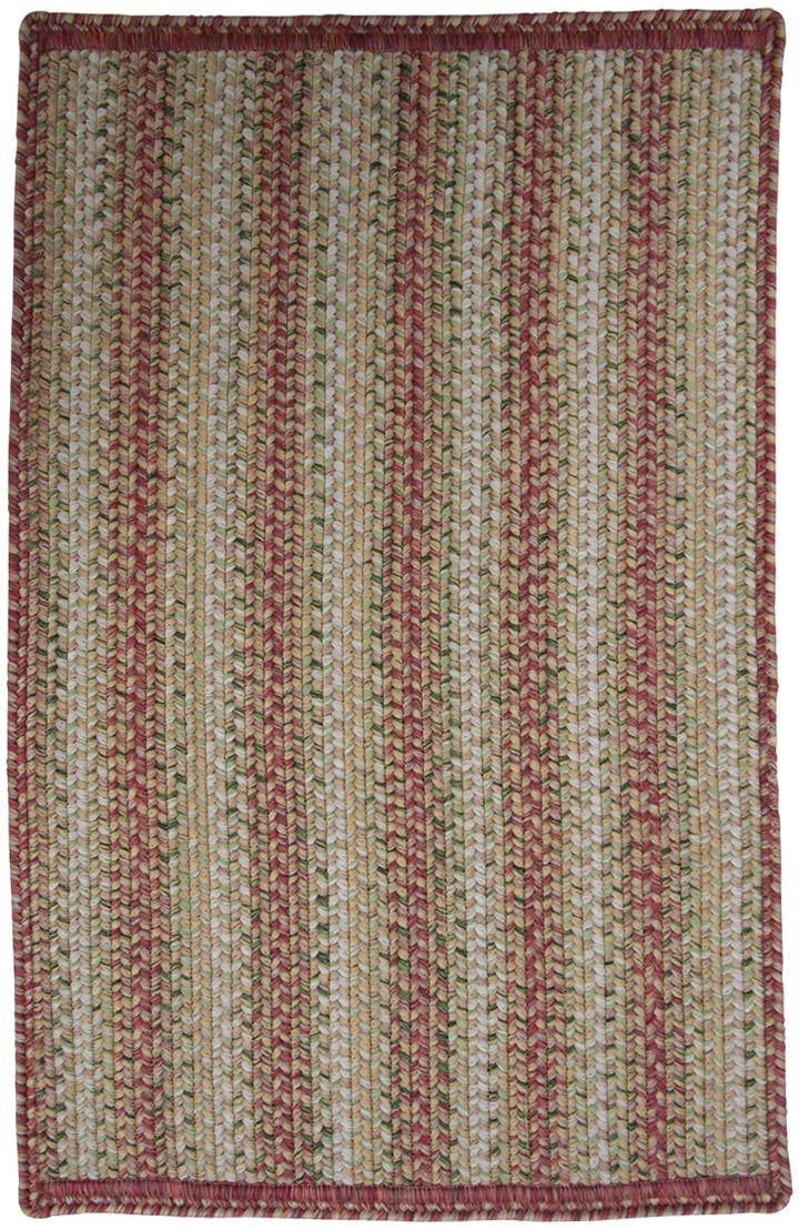 homespice decor rose meadow braided area rug collection