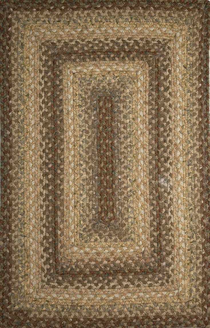 homespice decor heather braided area rug collection