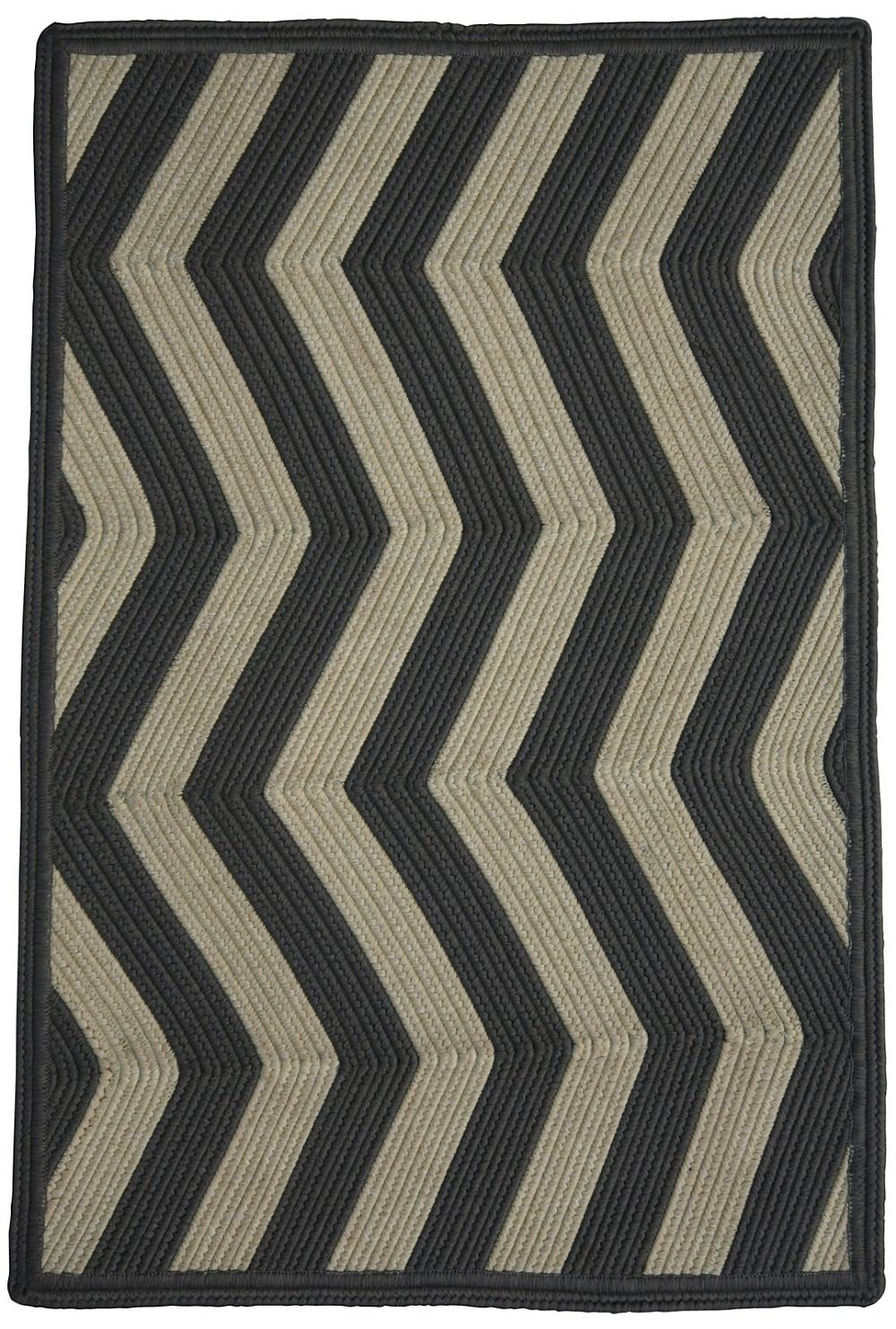 homespice decor sable ivory braided area rug collection