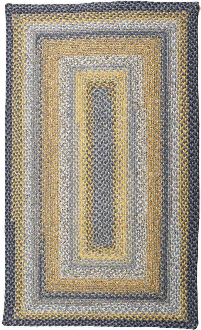 homespice decor sunflowers braided area rug collection