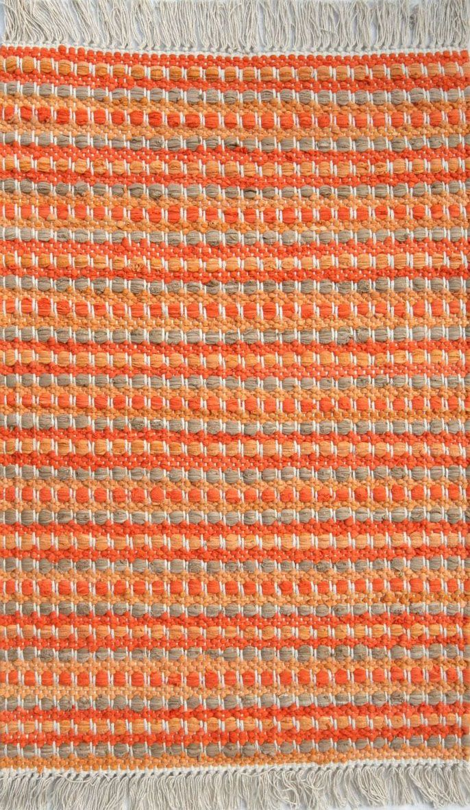 homespice decor stripe tropical braided area rug collection