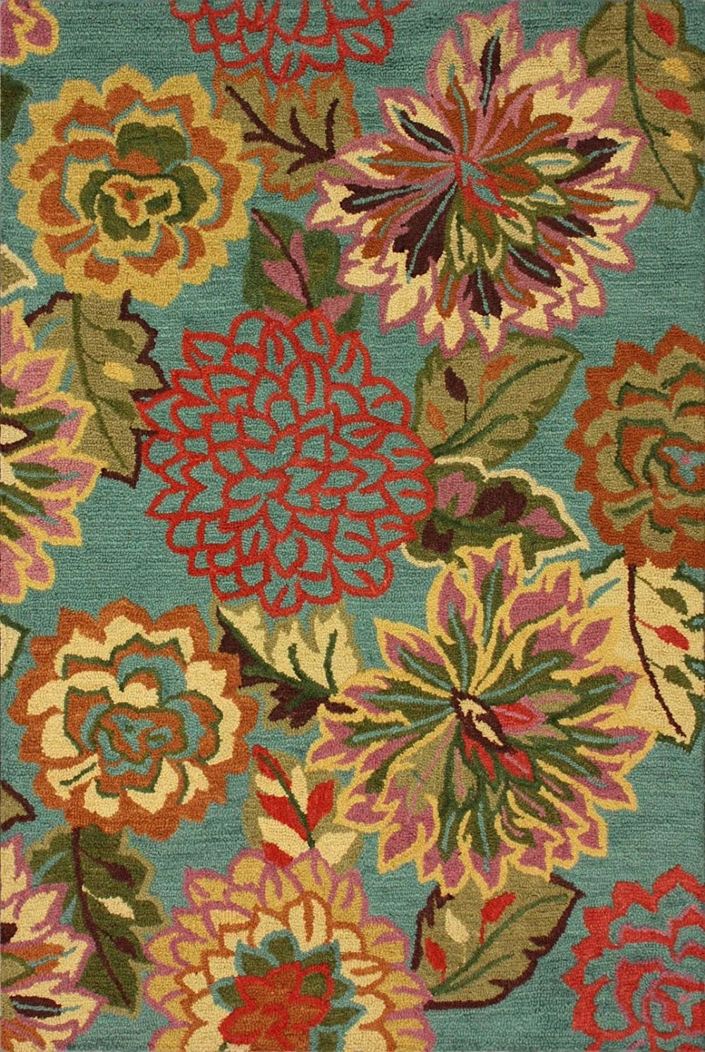 nuloom isabella country & floral area rug collection