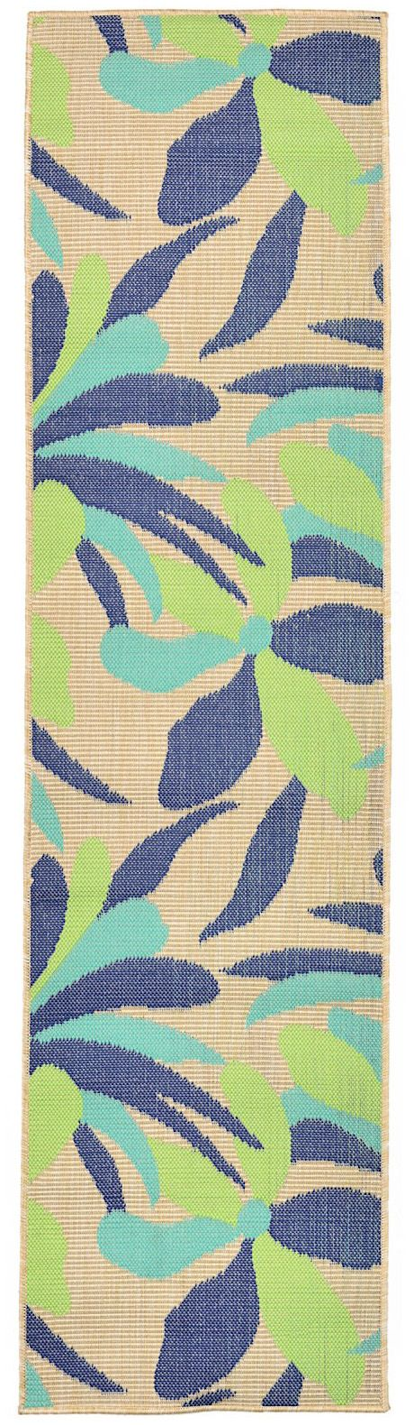 trans ocean playa country & floral area rug collection