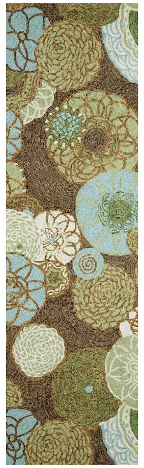trans ocean ravella country & floral area rug collection