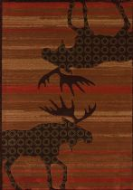 United Weavers Southwestern/Lodge Contours Cabin Chalet Area Rug Collection