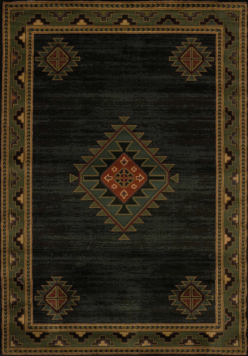 united weavers genesis laramie hunter southwestern/lodge area rug collection