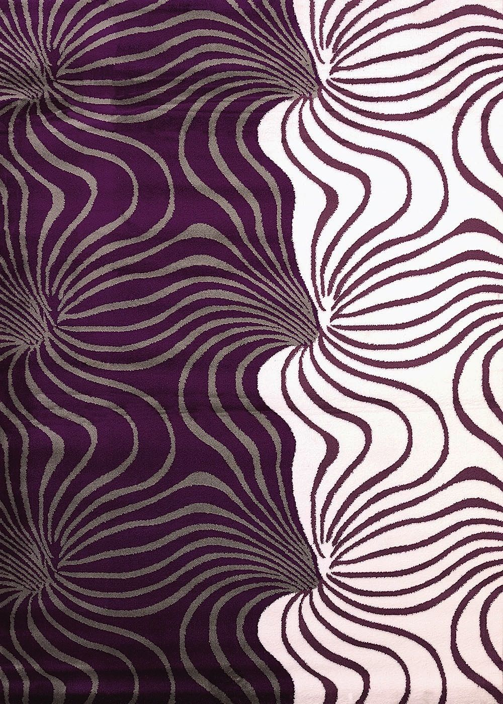united weavers cristall  kamakazie plum contemporary area rug collection
