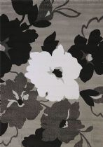 United Weavers Contemporary Cristall Collection Snow Blossom Area Rug Collection