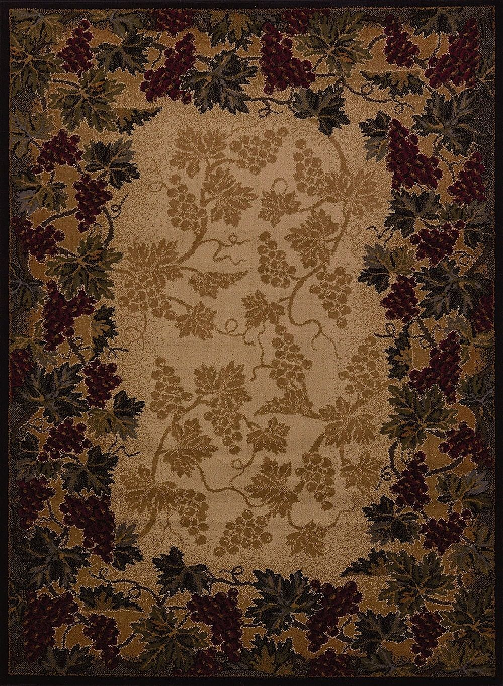 united weavers affinity beaujolais southwestern/lodge area rug collection