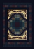 United Weavers Contemporary Manhattan Gingham Area Rug Collection