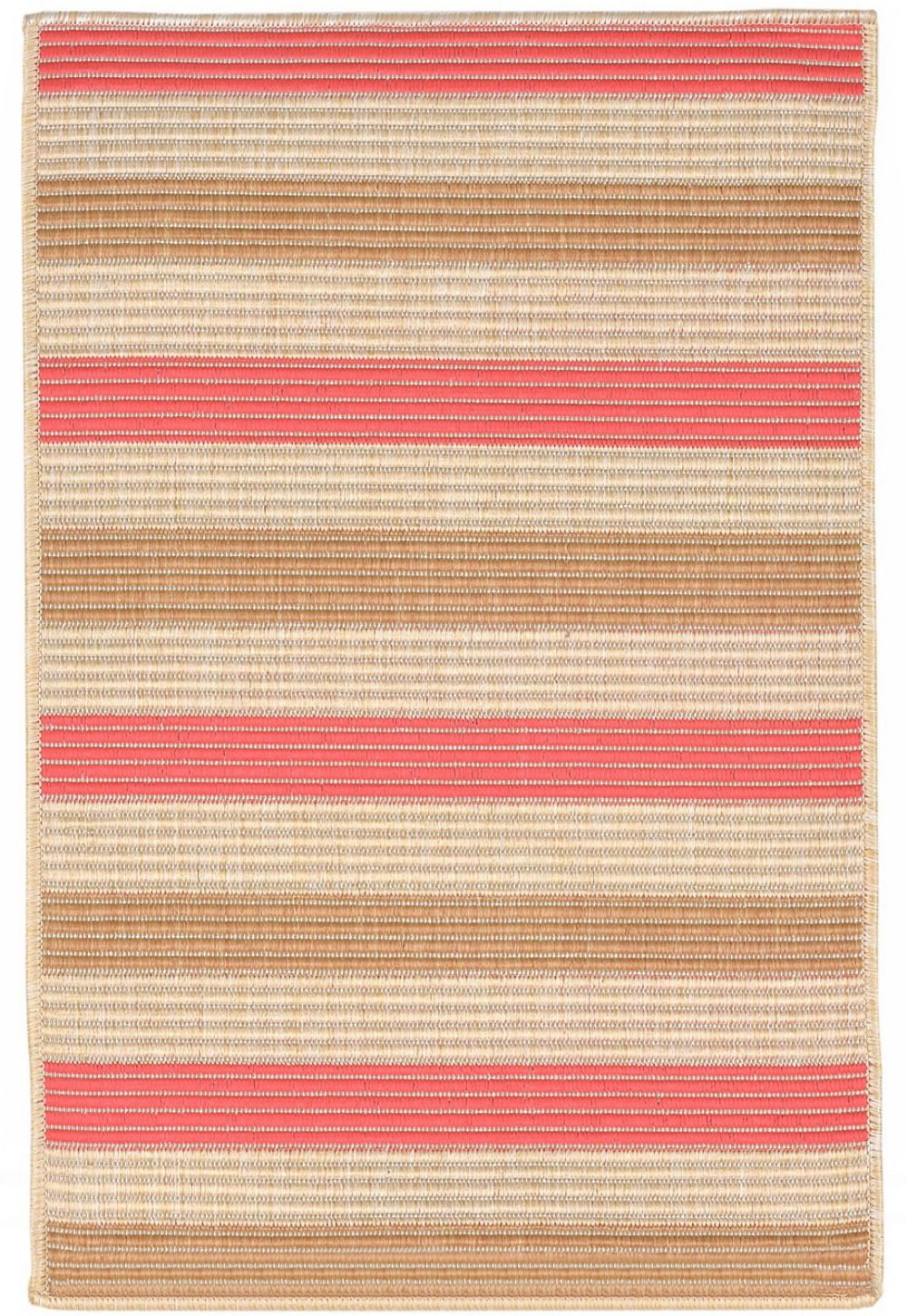 trans ocean terrace solid/striped area rug collection