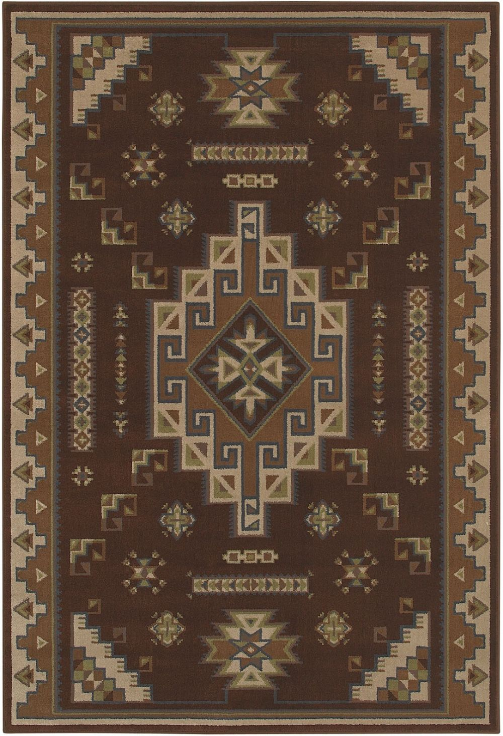 shaw newport southwestern/lodge area rug collection