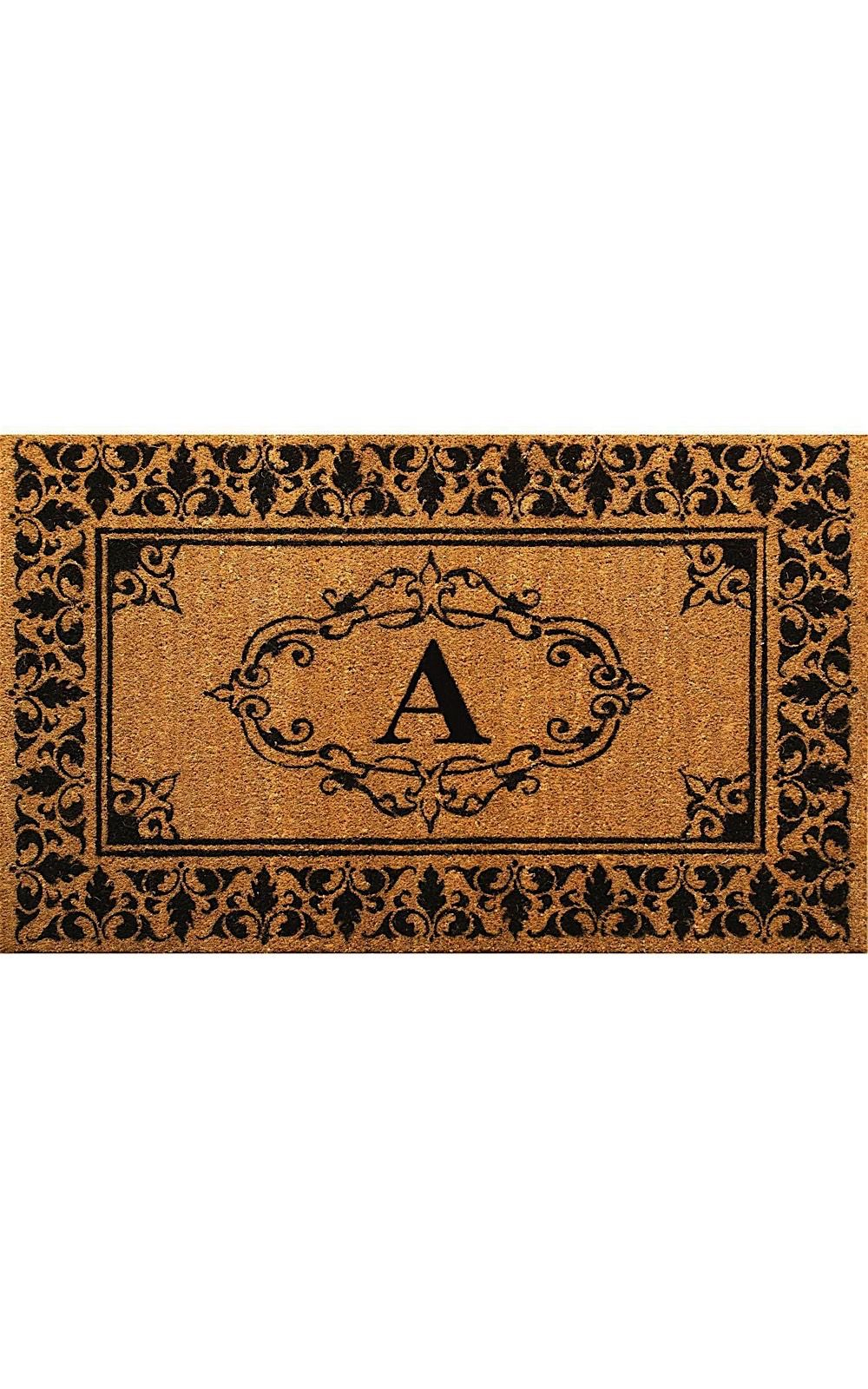 nuloom letter a indoor/outdoor area rug collection