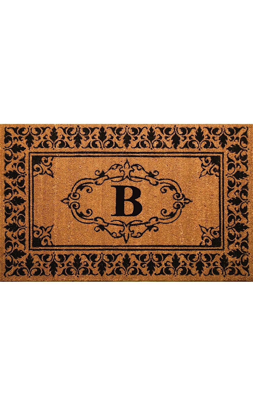 nuloom letter b indoor/outdoor area rug collection