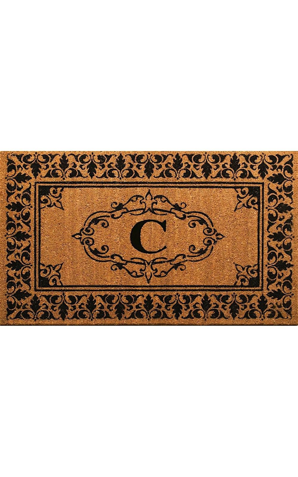 nuloom letter c indoor/outdoor area rug collection