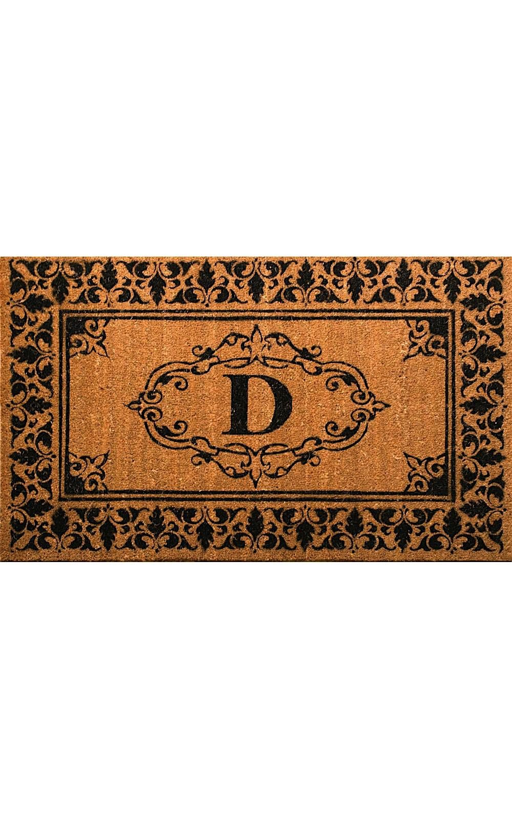 nuloom letter d indoor/outdoor area rug collection