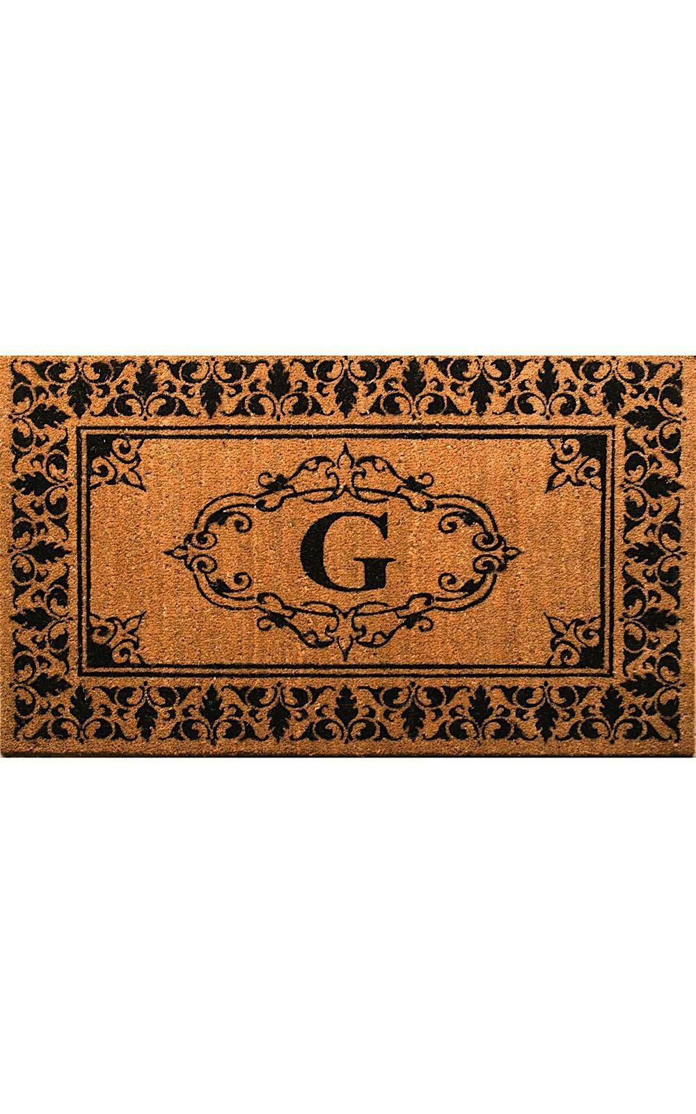 nuloom letter g indoor/outdoor area rug collection