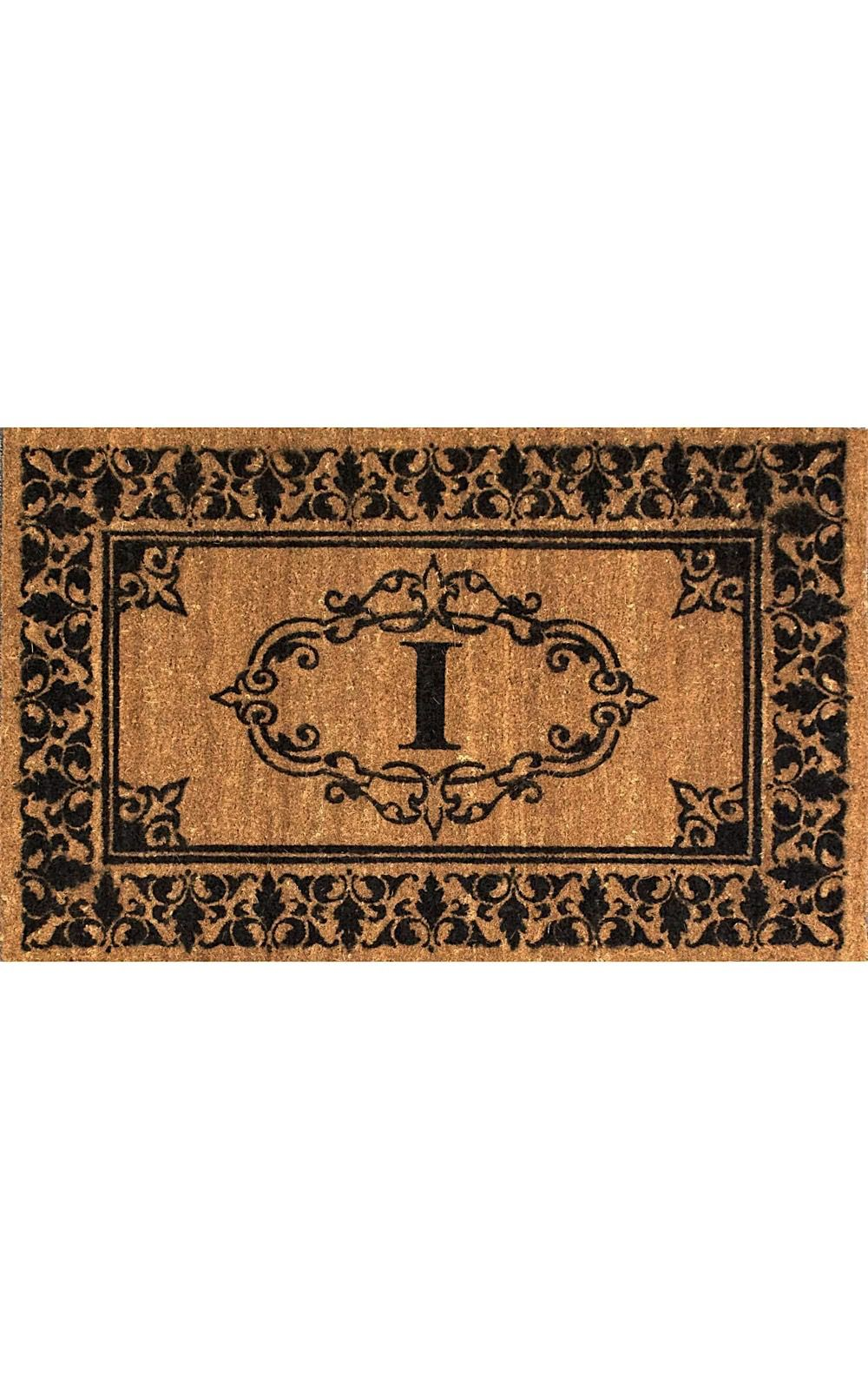 nuloom letter i indoor/outdoor area rug collection