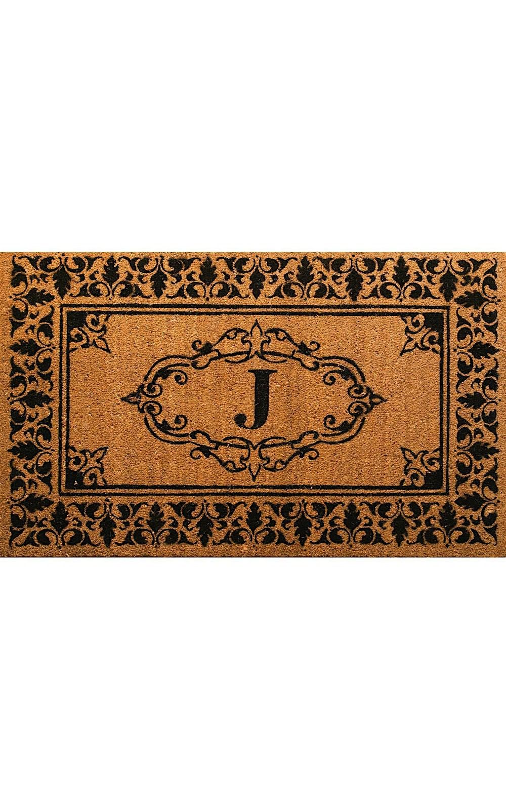 nuloom letter j indoor/outdoor area rug collection