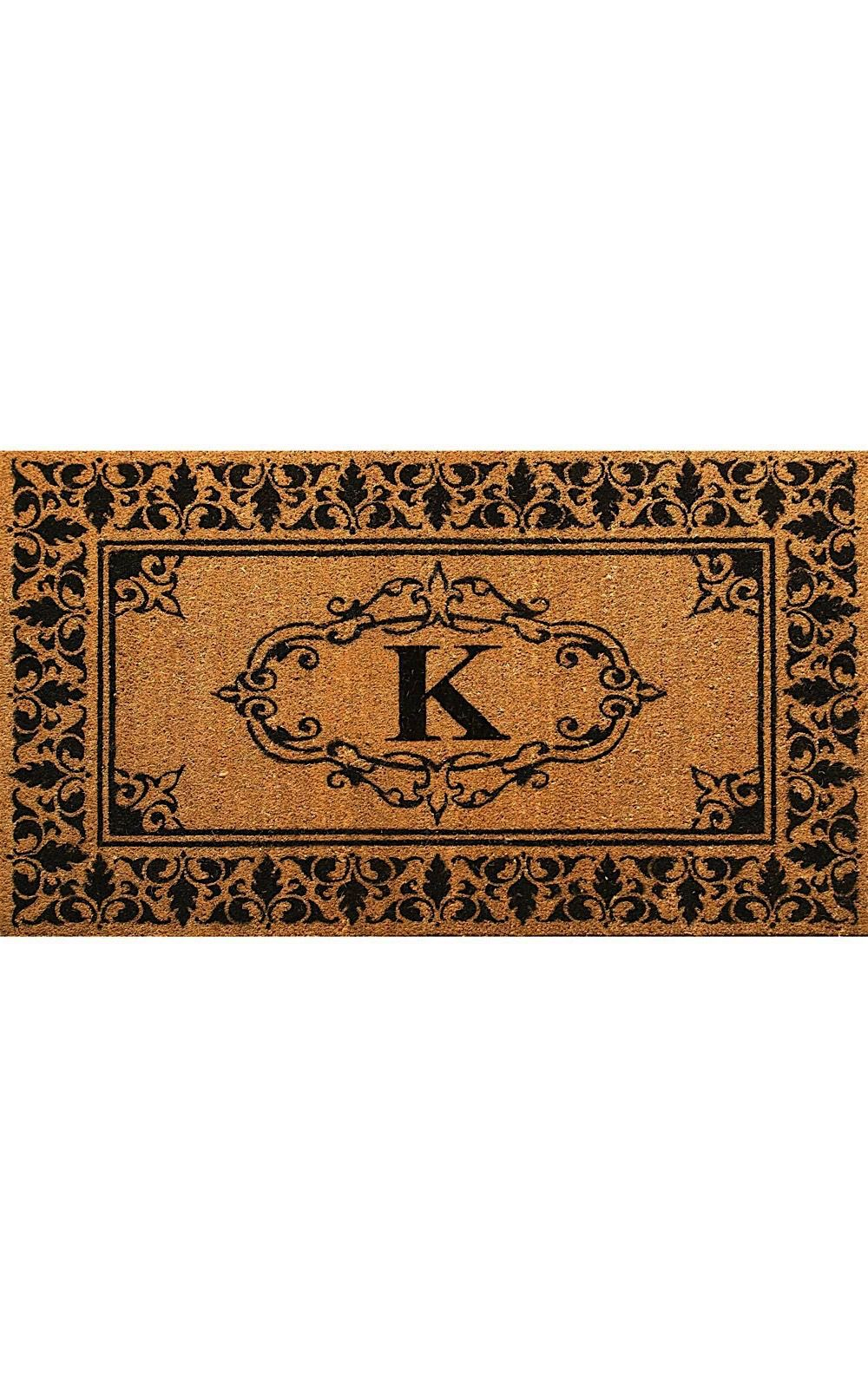 nuloom letter k indoor/outdoor area rug collection