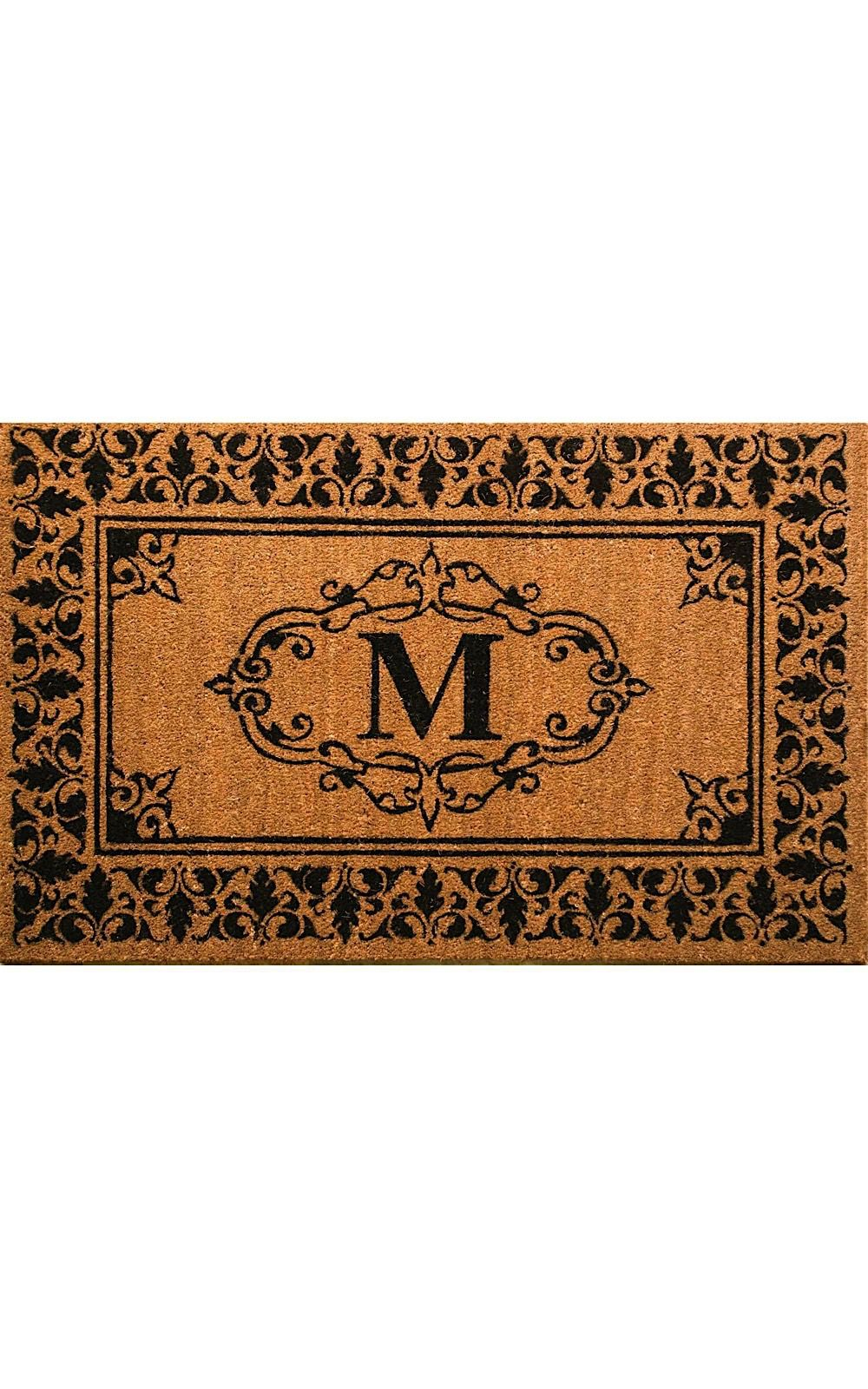 nuloom letter m indoor/outdoor area rug collection