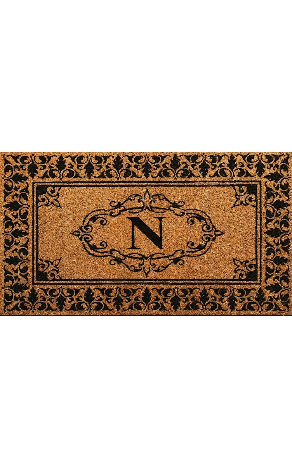 nuloom letter n indoor/outdoor area rug collection
