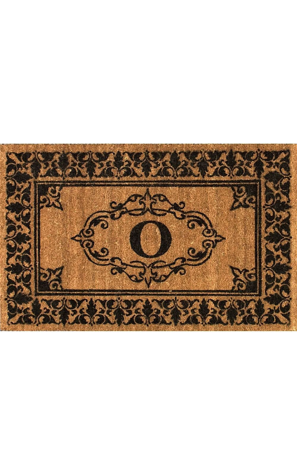 nuloom letter o indoor/outdoor area rug collection