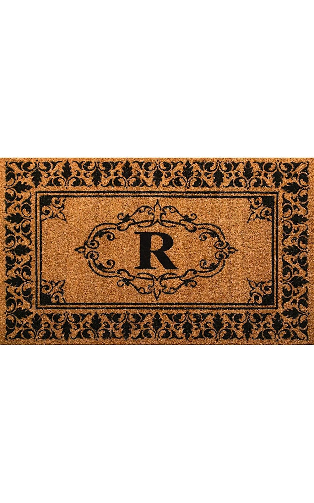 nuloom letter r indoor/outdoor area rug collection