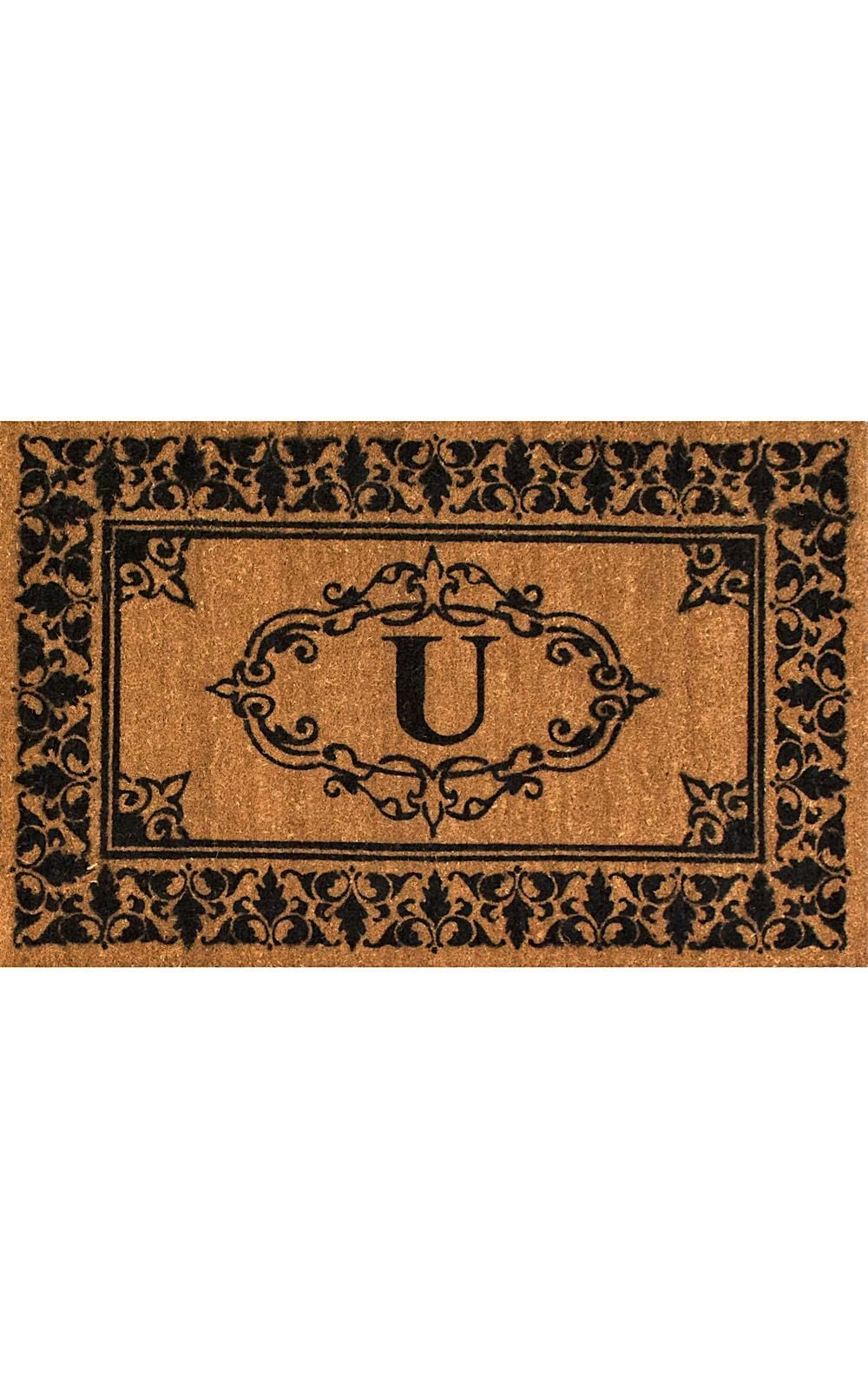 nuloom letter u indoor/outdoor area rug collection