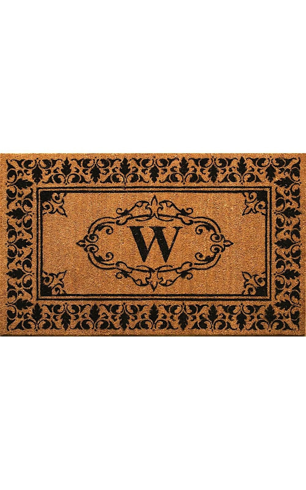 nuloom letter w indoor/outdoor area rug collection