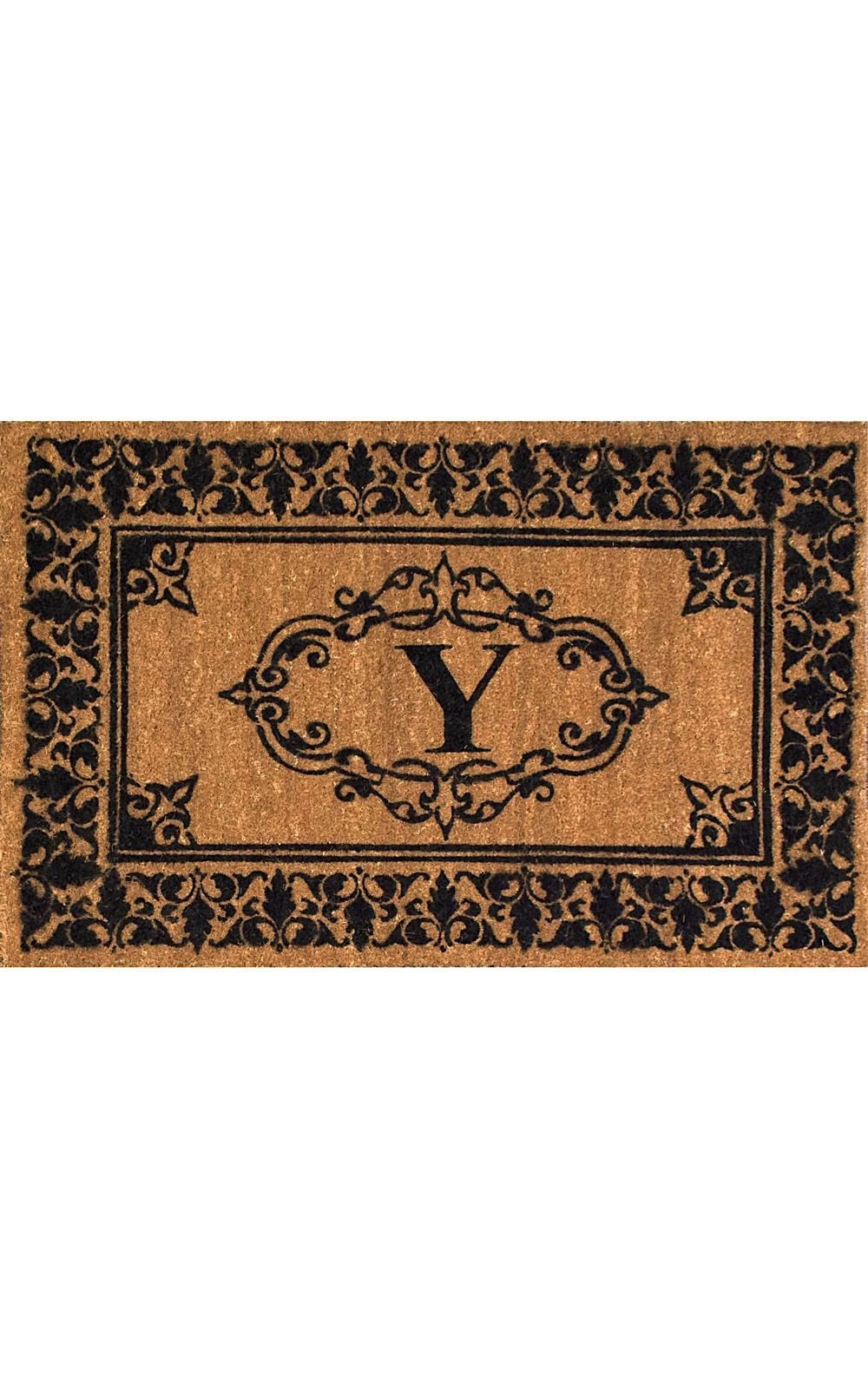 nuloom letter y indoor/outdoor area rug collection