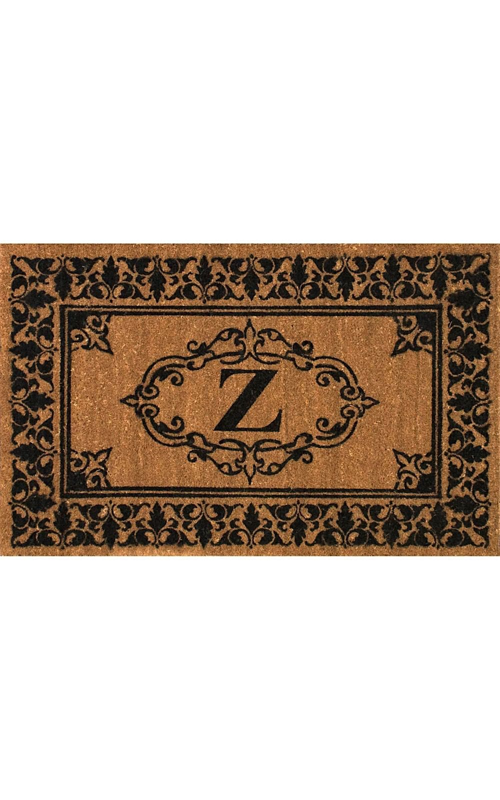 nuloom letter z indoor/outdoor area rug collection