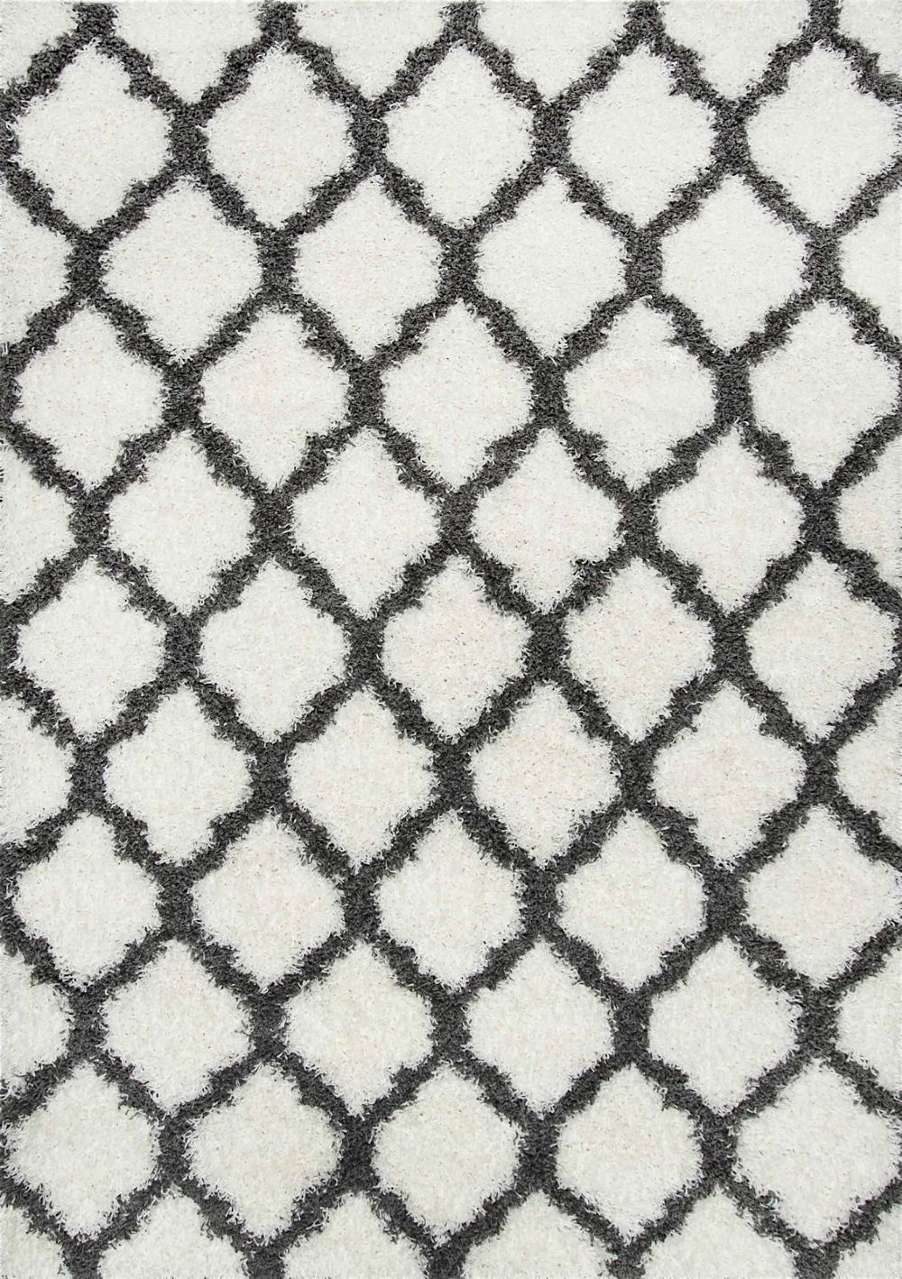 nuloom modern trellis shag area rug collection