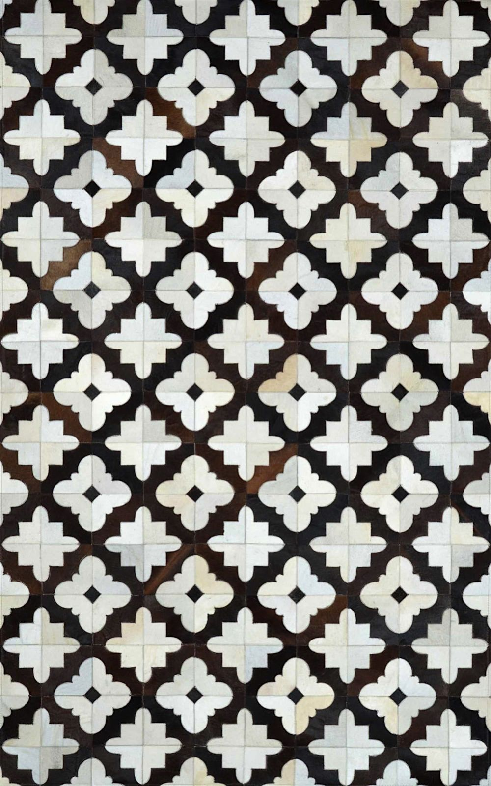 nuloom robin cowhide contemporary area rug collection